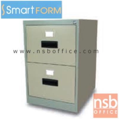 """ตู้เหล็กเก็บเอกสารชนิดแฟ้มแขวน  2,3 และ 4ลิ้นชัก (รางลิ้นชัก 2 ตอน) รุ่น FC-742,FC-743,FC-744:<p>ผลิต 3 ขนาดคือ 2,3, 4 ฟุต / โครงตู้เหล็กหนา 0.5 มม./ ผลิต 2 สี คิอ สีเทาเข้ม &nbsp;สีเทากลางสลับเทาอ่อน **หมายเหตุ** ลิ้นชักไม่มีระบบป้องกันการล้ม</p> <table width=""""50%"""" border=""""1""""> <tbody> <tr> <td align=""""center"""">รางลิ้นชักล้อไนล่อน</td> <td align=""""center"""">รางลิ้นชักระบบลูกปืน</td> <td align=""""center"""">ระบบป้องกันการล้ม</td> </tr> <tr> <td align=""""center"""">No</td> <td align=""""center"""">Yes</td> <td align=""""center"""">No</td> </tr> </tbody> </table> <p>หมายเหตุ&nbsp;</p> <ul> <li>รางลิ้นชักล้อไนล่อน = รางลิ้นชักเหล็ก ลูกล้อไนล่อน</li> <li>รางลิ้นชักระบบลูกปืน = รางลิ้นชักเหล็ก 3 ตอน ระบบลูกปืน(เปิดได้สุด และรับ นน. ได้มากกว่า)</li> <li>ระบบป้องกันการล้ม = ณ ขณะใดขณะหนึ่ง จะสามารถเปิดลิ้นชักได้ลิ้นชักเดียว เพื่อป้องการการเผลอเปิดหลายลูกลิ้นชักซึ่งอาจทำให้ตู้คว่ำหน้าได้</li> </ul> <p>&nbsp;</p> <p>&nbsp;</p>"""