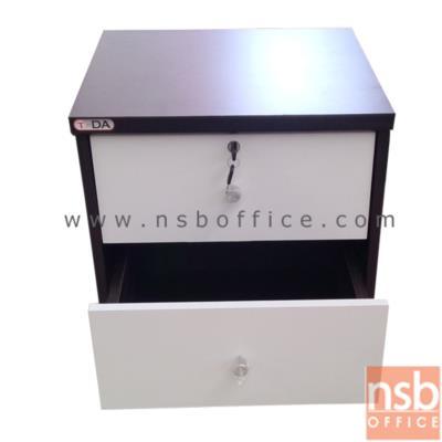 ตู้ข้างเตียง 2 ลิ้นชัก มีกุญแจ สีบีช (มีสต๊อก 1 ใบ):<p>ขนาด 43W*40D*46H cm &nbsp;สีโอ๊ค/ขาว มีกุญแกล็อก</p>