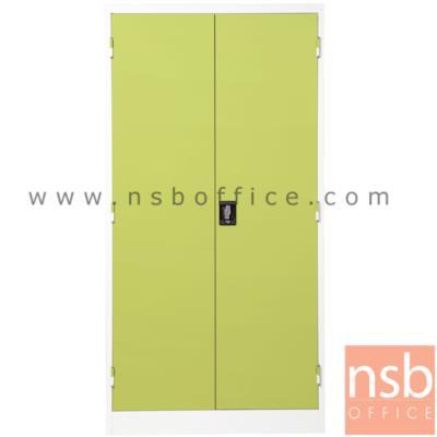 ตู้ 2 บานเปิด มือจับฝัง:<p>ขนาด 91.4W*45.7D*182.9H cm. / Keylock /ผลิต8 สี&nbsp;</p>