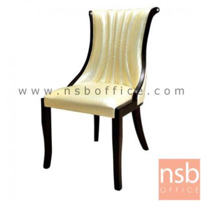 เก้าอี้ทรงหลุยส์ หุ้มหนัง PU รุ่น FTS-7023 ขาไม้:<p>ขนาด 48W*44D*93H cm.&nbsp;<span>&nbsp;เก้าอี้ทรงหลุยส์ สไตล์เรียบหรู โครงขาทำจากไม้ยางพาราสีโอ๊ค</span></p>