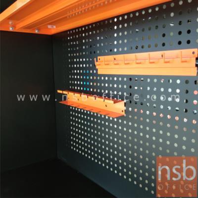 ที่แขวนเครื่องมือช่าง (ไขควง ประแจ) ผลิตสีส้ม รุ่น MHCR4050,MHWR4037  :<p>ผลิต 2 แบบแคือ ที่แขวนไขควง ขนาด&nbsp;40W*5D*6H cm. และที่แขวนประแจ ขนาด 40W*4D*6H cm.&nbsp;<span>ผลิตจากเหล็กหนา 0.7 มม. พ่นสีฝุ่นหนา 60 ไมครอน / ทนทานกันสนิม / เหมาะสำหรับการใช้งานในโรงงาน หรือ อุปกรณ์เครื่องภายในบ้าน ใช้สำหรับแขวนไขควง หรือ เครื่องมือช่าง</span></p>
