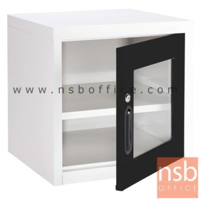 ตู้เหล็ก 1 บานเปิดกระจก หน้าบานสีสัน 44W*40.7D*44H cm รุ่น UNI-2 :<p>ขนาด 440W*407D*440H mm. / Keylock /ผลิต 8 สี</p>