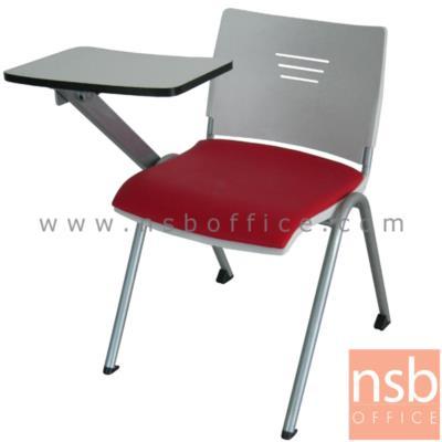 เก้าอี้เลคเชอร์เฟรมโพลี่ ไม่มีตะแกรงวางของ รุ่น CV-094-095 ขาเหล็กทำสี:<p>ขนาด 62W*67D*76H cm. ผลิต 2 รุ่น คือเฟรมโพลี่ล้วนและเฟรมโพลี่หุ้มเบาะ /&nbsp; โครงเก้าอี้พ่นสีในระบบ epoxy /แผ่นเลคเชอร์ทำจากไม้ปาร์ติเกิ้ลบอร์ดปิดผิวโฟเมก้า สามารถเปิดขึ้นลงและเก็บไว้ด้านข้างได้ / เก้าอี้พลาสติกฉีดขึ้นรูป เก้าอี้ผลิต 3 สี คือ สีดำ สีขาว และ สีแดง&nbsp;</p>