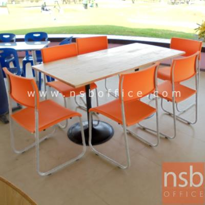 เก้าอี้อเนกประสงค์เฟรมโพลี่ รุ่น B718  ขาเหล็กตัวยูพ่นสีเทา:<ul> <li>เปลือกโพลี่ล้วน</li> <li>ขาเหล็กตัวยู(U)พ่นเทา</li> </ul>