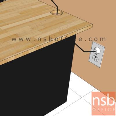 ตู้เหล็กอเนกประสงค์ ล้อเลื่อน MBU-154 4 ลิ้นชัก 2 บานเปิด (สูงเสมอโต๊ะ) :<p>ขนาด 149W*45D*74.3H cm. โครงตู้สีดำผลิตหน้าบาน 2 สี / ล้อตู้สามารถล็อคได้</p>