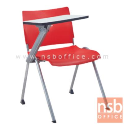 เก้าอี้เลคเชอร์เดี่ยว  พลาสติกโพลี่ฉีดขึ้นรูป CV-094-095:<p>ผลิต 2 รุ่น คือเฟรมโพลี่ล้วนและเฟรมโพลี่หุ้มเบาะ /ขนาดเก้าอี้ ขนาด 62W*67D*76H cm. &nbsp;/&nbsp; โครงเก้าอี้พ่นสีในระบบ epoxy /แผ่นเลคเชอร์ทำจากไม้ปาร์ติเกิ้ลบอร์ดปิดผิวโฟเมก้า สามารถเปิดขึ้นลงและเก็บไว้ด้านข้างได้ / เก้าอี้พลาสติกฉีดขึ้นรูป เก้าอี้ผลิต 3 สี คือ สีดำ สีขาว และ สีแดง&nbsp;</p>