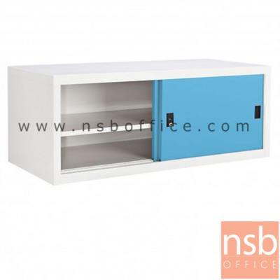 ตู้เหล็กบานเลื่อนทึบเตี้ย 3 ฟุต หน้าสีสัน สีขาวครีม 88W*40.7D*44H cm:<p>ขนาด 880W*407D*440H mm. / Keylock /ผลิต 8 สีคือ สีขาวมุก, สีดำ, สีแดง, สีม่วง, สีส้ม, สีฟ้า, สีเขียว และสีเทาฟ้</p>