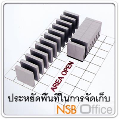 """ตู้รางเลื่อนแบบมือผลัก 91.4D cm ขนาด 4, 6, 8, 10,12,14,16 ตู้ (มอก.1496-2541):<p><span class=""""st"""">มอก.1496-2541</span> / มี 6 ขนาด 4, 6, 8,10,12,14 และ 16 ตู้ ประหยัดพื้นที่&nbsp;/ ระบบรางอย่างดี เลื่อนง่าย ตู้คู่มีแผ่นกั้นตรงกลางเต็มแผ่น<span>&nbsp;/ เหล็กหนา 0.7 มม. 4 ชั้น 5 ช่อง แผ่นชั้นปรับระดับได้ตามต้องการบนตะขอเหล็กขึ้นรูป / มีลวดกั้นหนังสือชั้นละ 1 อัน/&nbsp;<span>แผ่นพื้นปิดผิวล</span><span>ามิเนต HPL</span></span></p> <p>&ldquo;ตู้เดี่ยวลึก 35.5 ซม. /ตู้คู่ลึก 61.2 ซม. (สามารถปรับความลึกตู้ได้ตามสเปคที่ต้องการ)&rdquo;</p>"""