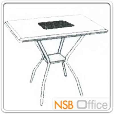 """ชุดโต๊ะเอนกประสงค์ 80 ซม.พร้อมเก้าอี้ รุ่น TOTO/YANUS:<p><span>ชุดโต๊ะเอนกประสงค์ ประกอบด้วย โต๊ะหน้าเหลี่ยมผิวเมลามีน ขนาด 80W*80D*75H ซม. พร้อมเก้าอี้ 4 ตัว ขนาด 55W*56D*83H ซม. ที่นั่ง-พนักพิงบุฟองน้ำหุ้มหนังเทียม มีที่ท้าวแขน/โครงเหล็กชุบโครเมี่ยม (รหัสเก้าอี้ที่เข้าชุดกัน&nbsp;<a href=""""http://www.nsboffice.com/productdetail-gid-13570.aspx""""><span style=""""color: #ff0000;"""">G14A127</span></a>)</span></p>"""