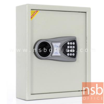ตู้เก็บกุญแจ เปิด-ปิดด้วยระบบอิเล็กทรอนิกส์ เก็บกุญแจได้ 48 ชุด รุ่น AEK-80   :<p>ขนาด 30W*10D*36.5H cm.<span>ตู้เก็บกุญแจ เปิด-ปิดด้วยระบบอิเล็กทรอนิกส์ ตั้งรหัสล็อคได้ 1 ถึง 8 เลขหมาย น้ำหนัก 8 กก. เก็บกุญแจได้ 48 ชุด ผลิตสีครีม</span></p>