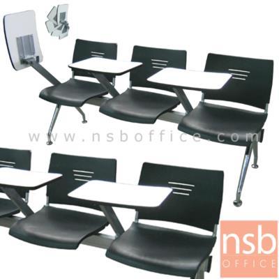 เก้าอี้เลคเชอร์แถวเฟรมโพลี่  2  , 3 , 4 ที่นั่ง รุ่น CV-219 ขาเหล็กชุบโครเมี่ยม:<p>เฟรมโพลี่ล้วน / 3 ขนาด&nbsp; คือ ขนาด 2 , 3 , 4 ที่นั่ง /แผ่นเลคเชอร์ทำจากไม้ปาร์ติเกิ้ลบอร์ดปิดผิวโฟเมก้า สามารถเปิดขึ้นลงและเก็บไว้ด้านข้างได้ / เก้าอี้พลาสติกฉีดขึ้นรูป ผลิต 3 สี คือ สีดำ สีขาว และ สีแดง / โครงขาเหล็กวีคว่ำพ่นสี epoxy</p>