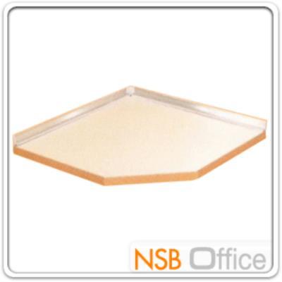 แผ่น TOP ปิดด้านบนของตู้ครัวเข้ามุม 90W*90D*3.4H cm.:<p>ขนาด 90W*90D*3.4H cm. /ปิดผิวด้วยเมลามีน ชนิดพิเศษทนความร้อนสูง ทนต่อรอยขีดข่วน และกรด /ผลิตเฉพาะสีขาวเท่านั้น</p>