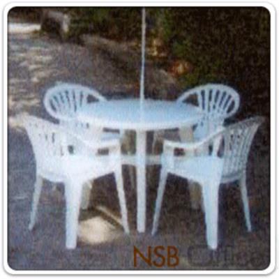 โต๊ะพลาสติกกลม รุ่น TOTO-ROUND ขนาด 88W* 72D* 35Di* 72H cm. ผลิตจากพลาสติก:<p>ขนาดเส้นผ่านศูนย์กลาง 35 นิ้ว (88*72 ซม.)&nbsp; ผลิตจากพลาสติกอย่างดี ทนทาน /มีสีขาว</p>
