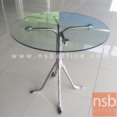 โต๊ะขาสแตนเลสหน้ากระจก รุ่น QTS-104 ขาสแตนเลส:<p>ผลิต 2 ขนาด 80 และ 100 cm. ขาโต๊ะทำจากสแตนเลสทั้งตัว พร้อมจุกยางรองขา แข็งแรง ไม่เป็นสนิม หน้าTOPกระจก&nbsp;tempered glass หนาประมาณ 10mm</p>