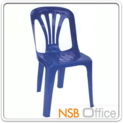 เก้าอี้พลาสติกหนาพิเศษ รุ่น THAILAND-02 ซ้อนเก็บได้ (พลาสติกเกรด A)