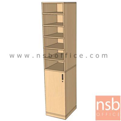 ตู้เอกสารสูง บน 6 ช่องโล่ง ล่าง 1 บานเปิดทึบ 180H, 200H cm. เมลามีน:<p>ผลิต 2 ขนาดคือ 47W*40D*200H cm และ 47W*40D*180H cm / &nbsp;บน 6 ช่องโล่ง ล่าง 1 บานเปิด (ด้านบนใช้แยกแบบแบบฟอร์ม) &nbsp;/ ปิดผิวเมลามีน กันชื้น กันร้อน</p>