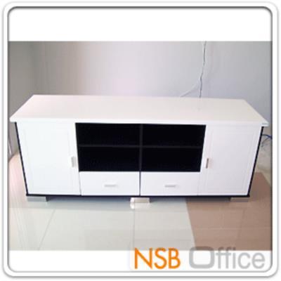 ตู้วางทีวีไฮกรอสโอ๊ค-ขาว 180W*50D*70H cm. (มีสต๊อก 2 ใบ):<p>มีสต๊อกสีไฮกรอสโอ๊ค-ขาว รูปแบบทันสมัย</p>