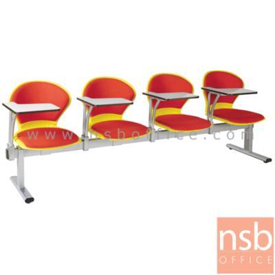 เก้าอี้เลคเชอร์แถวเปลือกโพลี่ หุ้มเบาะ ตัวโบว์ 2 , 3 , และ 4 ที่นั่ง รุ่น D476 ขาเหล็กพ่นสีเทา:<p>มี 3 ขนาดคือ 2, 3 และ 4 ที่นั่ง / ที่นั่งและพนักพิงเปลือกโพลี่หุ้มเบาะ ตัวโบว์/ ขาเหล็กพ่นสีเทา รูปลักษณ์ทันสมัย / โพลี่ผลิต 5 สี คือ สีเหลือง, สีแดง, สีเทา, สีน้ำเงิน และสีเขียว</p>