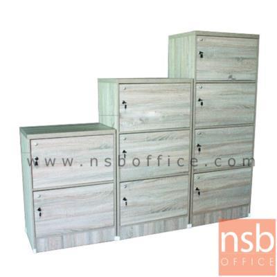 ตู้ล็อกเกอร์ไม้ 2 , 3 , 4 ช่องบานเปิดรุ่น BD123 กุญแจล็อคแยก:<p><span>โครงผลิตจากไม้ปาร์ติเกิลบอร์ด มีกุญแจล็อคแยก ผลิต 3 โทนสีคือสีโอ๊ค/ขาว, สีเชอร์รี่/ดำ และสีโซลิค</span></p>