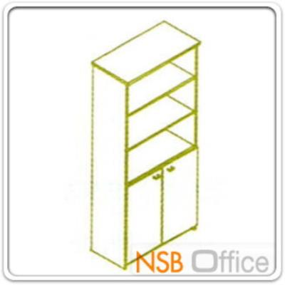 ตู้เอกสารสูง 5 ชั้น บนโล่ง ล่างบานเปิดทึบ 180H, 200H cm. เมลามีน:<div> <p>ผลิต 3 ขนาดคือ 80W*40D*200H cm., 90W*40D*200H cm.(วางแฟ้มได้ 5 ช่อง) และ 90W*40D*180H cm&nbsp;(วางแฟ้มได้ 4 ช่องครึ่ง) / ปิดผิวเมลามีน กันชื้น กันร้อน&nbsp;</p> </div>