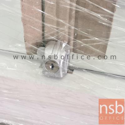 ตู้โชว์กระจกดาวน์ไลท์ 2 บานเปิด   ขนาด 80W cm. (รุ่นพิเศษไฟ LED):<p>ขนาด 80W*43D*195H cm.&nbsp;ภายในมี 4 แผ่นชั้น (5 ช่อง)&nbsp; แผ่นข้างและแผ่นหน้าเป็นกระจกใส แผ่นชั้นปรับระดับได้ / ผลิตสีขาวและสีโซลิค</p>