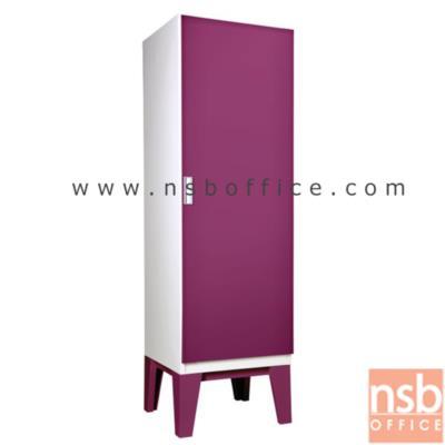 ตู้เสื้อผ้าเหล็ก 1 บานเปิดสูง 200 ซม. ขาลอย ( 10 สี) รุ่น WDC-01 :<p>ขนาด 60W*56D*200H cm. ผลิตจากเหล็กคุณภาพดี ผลิต 8 สี</p>