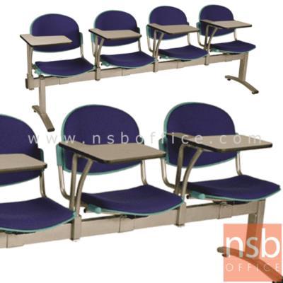 เก้าอี้เลคเชอร์แถวเปลือกโพลี่ ที่นั่งหุ้มเบาะ หัวโค้ง 2 , 3, และ 4 ที่นั่ง รุ่น D4656 ขาเหล็กพ่นสี:<p>มี 3 ขนาดคือ 2, 3 และ 4 ที่นั่ง / ที่นั่งและพนักพิงเปลือกโพลี่หุ้มเบาะ หัวโค้ง/ ขาเหล็กพ่นสีเทา รูปลักษณ์ทันสมัย/ โพลี่ผลิต 4 สี คือ สีฟ้าอมม่วง, สีเทา, สีเขียวสด และสีน้ำเงิน</p>