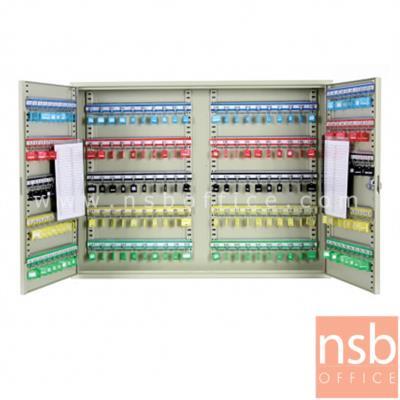 ตู้เก็บกุญแจ 200 ดอก พร้อมพวงกุญแจระบุหมายเลข  ระบบกุญแจล็อค รุ่น  B200B-AS:<p>ขนาด 73W*8D*55H cm.&nbsp; ที่แขวงกุญแจสามารถปรับระดับได้ น้ำหนักประมาณ 14 กก. สีครีม</p>