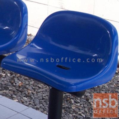 ที่นั่งเปลือกโพลี่แบบครึ่งก้น รุ่น KS-85 (เฉพาะที่นั่ง):<p>เปลือกพลาสติกโพลี่อย่างหนา ฉีดขึ้นรูปอย่างดี รองรับน้ำหนักได้ดี ไม่มีพนักพิง มีให้เลือก 3 สีคือมีสีแดง สีเขียว และสีน้ำเงิน</p>