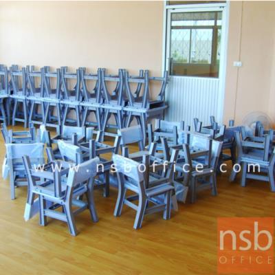 ชุดโต๊ะนักเรียนพลาสติก ทรงสี่เหลี่ยม รุ่น TH-1S ระดับชั้นอนุบาล:<p>1 ชุดประกอบด้วยโต๊ะ + เก้าอี้ /โต๊ะขนาด 60W*40D*54H cm. /เก้าอี้ขนาด 35W*30D*30.2H1(สูงถึงที่นั่ง)*54.5H2(สูงถึงพนักพิง) cm. / โต๊ะผ่านการรับรองผลิตภัณฑ์อุตสาหกรรม มอก.1494-2541 &ndash; เก้าอี้ผ่านการรับรองผลิตภัณฑ์อุตสาหกรรม มอก.1495-2541 /โครงสร้างผลิตจากพลาสติก(POLYPROPYLENE) เป็นระบบ FULLY KNOCKDOWN 100% สามารถถอดเปลี่ยนได้ทุกชิ้น มีความปลอดภัยสูง มุมเหลี่ยมไม่คม มีสีสันให้เลือก 6 สีคือสีเทา และสีสัน(มี 5 สี) **ราคาไม่เท่ากัน</p>