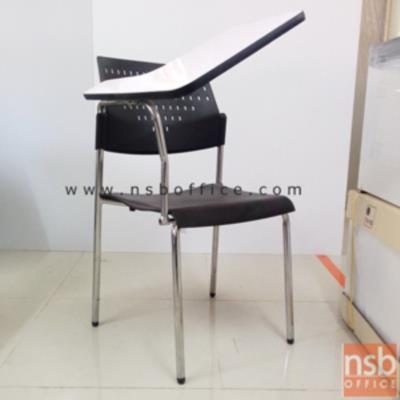 เก้าอี้เลคเชอร์พิงโพลี่ ที่นั่งหุ้มเบาะ ขาโครเมี่ยม C3616:<p>พนักพิงโพลี่ ที่นั่งโพลี่หุ้มเบาะ / ที่เขียนโฟเมก้าใหญ่ / ขาโครเมี่ยม ทันสมัย / 52(W) * 59(D) * 82(H) cm./โพลี่ผลิต 9 สีคือ สีเขียวตอง, สีครีม, สีเหลือง, สีส้ม, สีแดง, สีดำ, สีม่วง, สีฟ้า และสีชมพู</p>