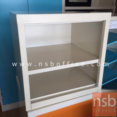 ตู้เล็ก 2 ช่องโล่ง สีขาวครีม 44W*40.7D*44H cm. รุ่น UNI-3 :<p>ขนาด 440W*407D*440H mm / สีขาวครีม</p>