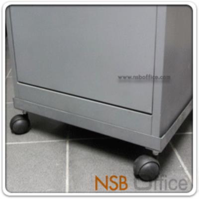 """ฐานรองล้อเลื่อนตู้ลิ้นชักแฟ้มแขวน ลูกล้อ 2"""" นิ้ว  :<p>สำหรับรองใต้ตู้ลิ้นชักแฟ้มแขวน 2,3,4 ลิ้นชัก เพื่อให้สามารถเคลื่อนตู้มาทำงานใกล้โต๊ะทำงานได้ /&nbsp;ลูกล้อ 2"""" นิ้ว</p>"""