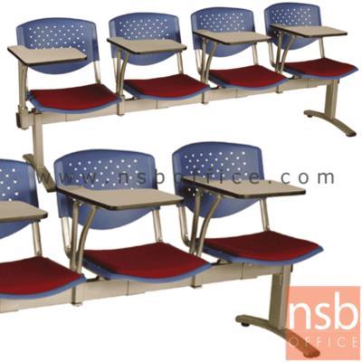 เก้าอี้เลคเชอร์แถวพนักพิงเปลือกโพลี่ ที่นั่งหุ้มเบาะ  2, 3 , และ 4 ที่นั่ง รุ่น D836 ขาเหล็กพ่นสีเทา:<p>มี 3 ขนาดคือ 2, 3 และ 4 ที่นั่ง / พนักพิงเปลือกโพลี่ ที่นั่งหุ้มเบาะ/ ขาเหล็กพ่นเทา รูปลักษณ์ทันสมัย / โพลี่ผลิต 5 สี คือ&nbsp;<span>สีฟ้าคราม, สีดำ, สีเขียวตุ่น, สีเทาเข้ม และสีน้ำเงิน</span></p>