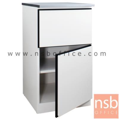 ตู้ครัวเหล็ก TOP สแตนเลส 1 ลิ้นชัก 1 บานเปิด รุ่น DOBBEL DB-101  :<p>ขนาด 50W*60D*90H cm. โครงตู้เหล็ก ผลิต 2 สี คือ สีแดงและสีขาว</p>