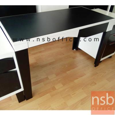 โต๊ะทำงานเหล็ก 1 ลิ้นชัก  รุ่น KN-101 :<p>ขนาด 120W*60D*75H cm. สินค้าผลิตจากเหล็กอย่างดี ที่รับประกันความคงทน แข็งแรง ทำ 2 โทนสีคือสีดำ/ขาว และสีดำ/แดง**ดูรูปแบบSETได้ที่รหัส E22A013**</p>