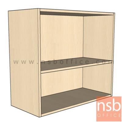 ตู้แขวนลอยช่องโล่ง 80W*35D*80H cm.   เมลามีน:<p><span>ขนาด 80W*35D*80H cm. ไม้เมลามีน กันร้อน กันชื้น&nbsp;</span></p>