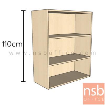 ตู้แขวนลอยช่องโล่ง 80W*35D*110H cm.   เมลามีน:<p><span>ขนาด 80W*35D*110H cm. ไม้เมลามีน กันร้อน กันชื้น&nbsp;</span></p>