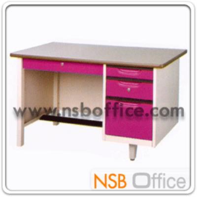 โต๊ะทำงานเหล็กหน้าเหล็ก PVC 4 ลิ้นชัก รุ่น ST-2436C,ST-2642C,ST-2648C :<p>ผลิต 3 ขนาด คือ &nbsp;3 ฟุต ,3 ฟุต ครึ่ง และ 4ฟุต&nbsp;</p>