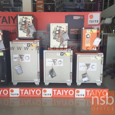 ตู้เซฟ TAIYO รุ่น 51 กก. 1 กุญแจ 1 รหัส (PTS512K1C):<p>ตู้เซฟ TAIYO รุ่น 51 กก. 1 กุญแจ 1 รหัส (PTS512K1C) TAIYO PTS512K1C มาตรฐาน ม.อ.ก. เปลี่ยนรหัสไม่ได้/ ภายนอก 35(W)*40(D)*51.2(H) cm. / ภายในมี 1 แผ่นชั้นพลาสติก /กันไฟนาน 1 ชั่วโมง</p>