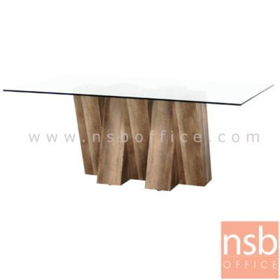 โต๊ะประชุมกระจกเหลี่ยม 5 ขา รุ่น RUSCUS ขาไม้:<p><span>ขนาด 180W*80D*75H cm. TOP กระจกนิรภัยหนา 1 cm. ขากล่องไม้ MDF ปัดผิวกระดาษลายไม้ (สีและแบบตามรูป)</span></p>