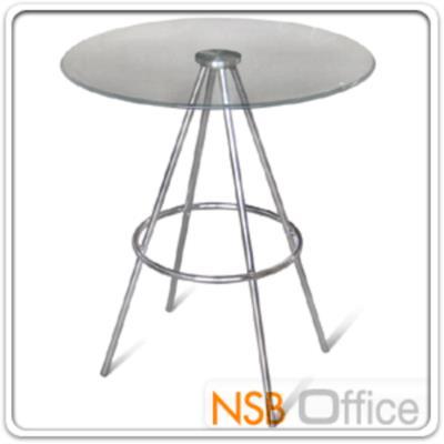 โต๊ะบาร์กระจกนิรภัย Di60*75H cm. รุ่น CO-A โครงขาเหล็กชุบโครเมี่ยม (หน้ากลม, หน้าเหลี่ยม):<p>TOP กระจกผลิต 2 รูปแบบคือแบบกลม และสีเหลี่ยม ขนาด Di60*75H cm. , 60W*60D*75H cm. / TOP กระจกนิรภัย โครงขาเหล็กชุบโครเมี่ยม</p>
