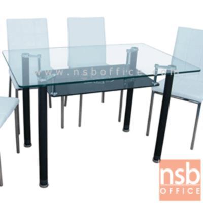 โต๊ะประชุมหน้ากระจกเหลี่ยม รุ่น FN-CTL-4 ขนาด 120W* 75D* 75H cm. ขาพ่นดำ:<p>ขนาด 120W*75D*75H cm. TOP กระจกนิรภัยหนา 12 มม. ขาเหล็กพ่นดำ (สีและแบบตามรูป)</p>