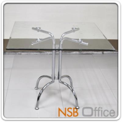 โต๊ะบาร์กระจกหน้าเหลี่ยม รุ่น A-TF ขนาด 90Di* 75H cm. ขาเหล็กชุบโครเมี่ยม (ยกเลิก):<p>ขนาดเส้นผ่านศูนย์กลาง 90*สูง 75 ซม. TOP กระจกนิรภัย โครงเหล็กชุบโครเมี่ยม รูปแบบทันสมัย /TOP กระจกผลิต 2 แบบคือกระจกใส และกระจกดำ</p>