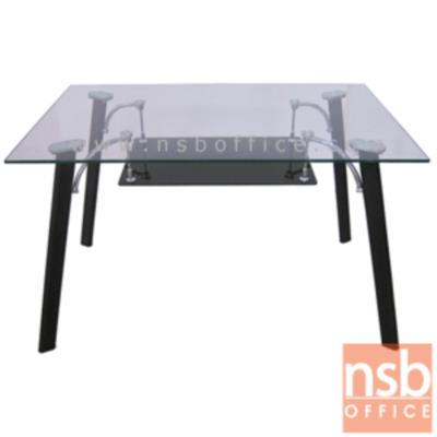 โต๊ะประชุมหน้ากระจกเหลี่ยม 120W cm. รุ่น FN-CTL-14 ขาเหล็กพ่นดำ:<p>ขนาด 120W*75D*74H cm. TOP กระจกนิรภัยหนา 10 มม. ขาเหล็กพ่นดำ (สีและแบบตามรูป)</p>