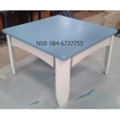 โต๊ะญี่ปุ่นพับได้ ไม้ยางพารา 60*60*38 ซม.   สีสันสดใส (สต็อกสีฟ้า 5 ตัว):<p>ขนาด 60W*60D*38H cm. / ผลิตจากไม้ยางพาราสีสันสดใส&nbsp; ขาพับได้</p>