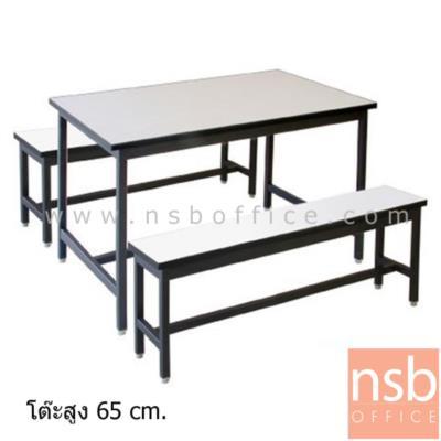 ชุดโต๊ะอ่านหนังสือเด็กเล็ก โต๊ะ 1 เก้าอี้ 2 หน้าโฟเมก้า:<p>โต๊ะอ่านหนังสือเด็กเล็ก ประกอบด้วยโต๊ะยาวจำนวน 1 ตัว และม้านั่งยาวจำนวน 2 ตัว</p> <p>ผลิต 3 ขนาด &nbsp;คือ 120W*60D*65H cm. , 150W*60D*65H cm. และ 180W*60D*65H cm.</p>