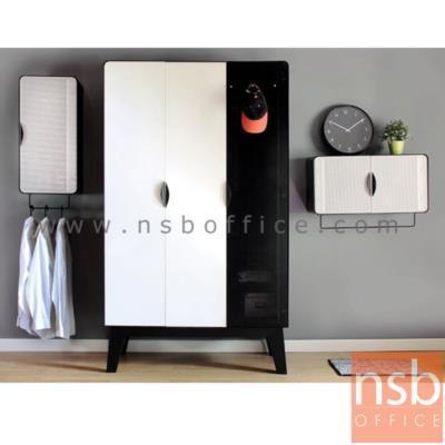 """ชุดตู้เสื้อผ้ามุมมน 3 ชิ้น (ตู้เสื้อผ้า ตู้แขวนแนวตั้ง และตู้แขวนแนวนอน) รุ่น KO-PT:<p>3 ชิ้น ประกอบด้วย ตู้เสื้อผ้า 120W*56D*200H cm. / ตู้แขวนบานเปิดแนวตั้ง ขนาด 40W*35D*80H cm. / ตู้แขวนบานเปิดแนวนอน&nbsp; ขนาด &nbsp;80W*35D*40H cm.&nbsp;<br /><span style=""""color: #ff0000;""""><br />**ตู้เสื้อผ้าจัดส่งเป็นใบ (<span>ถอดประกอบไม่ได้&nbsp;</span>แต่ถอดขาออกได้ เมื่อถอดขาแล้วจะขนาด 120W*56D*170H cm) รบกวนลูกค้าพิจารณาเส้นทางพื้นที่หน้างานก่อนการสั่งซื้อ กรณีขึ้นลิฟท์แนะนำลิฟท์กว้างหรือลึกมากกว่า120 cm.**</span></p>"""