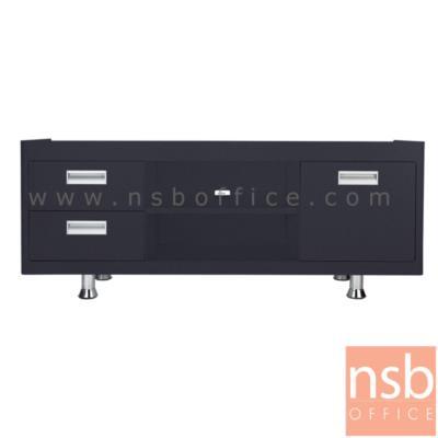 ตู้วางทีวีเหล็ก 53H cm. รุ่น KU-301 :<p>ขนาด ก.133*ล.40.7*ส.53 ซม. ผลิตสีดำและสีขาว</p> <p>&nbsp;</p>