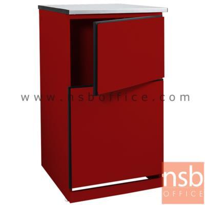 ตู้เหล็กวางถังแก๊ส (พื้นโล่ง) TOP สแตนเลส รุ่น DOBBEL DB-102 :<p>ขนาด 50W*60D*90H cm. โครงตู้เหล็ก ผลิต 2 สี คือ สีแดงและสีขาว</p>